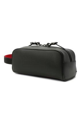 Мужской кожаные несессер blaster CHRISTIAN LOUBOUTIN черного цвета, арт. 1205142/BLASTER | Фото 2