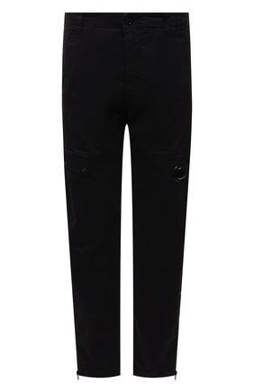 Мужские хлопковые брюки-карго C.P. COMPANY черного цвета, арт. 11CMPA191A-005529G | Фото 1 (Материал внешний: Хлопок; Длина (брюки, джинсы): Стандартные; Силуэт М (брюки): Карго; Случай: Повседневный; Стили: Гранж)