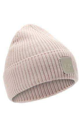 Мужская шерстяная шапка C.P. COMPANY светло-розового цвета, арт. 11CMAC121A-005509A | Фото 1