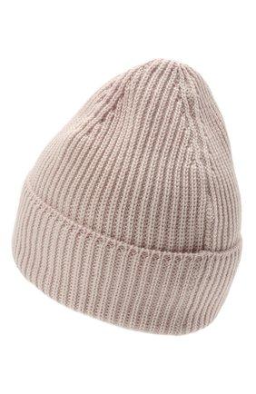Мужская шерстяная шапка C.P. COMPANY светло-розового цвета, арт. 11CMAC121A-005509A | Фото 2