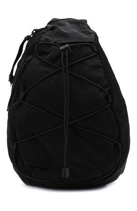Мужской текстильный рюкзак C.P. COMPANY черного цвета, арт. 11CMAC114A-005269G | Фото 1