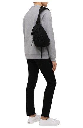 Мужской текстильный рюкзак C.P. COMPANY черного цвета, арт. 11CMAC114A-005269G | Фото 2