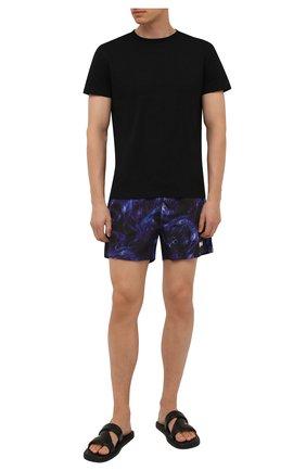 Мужские плавки-шорты VETEMENTS синего цвета, арт. MA52TR450S 1362 | Фото 2