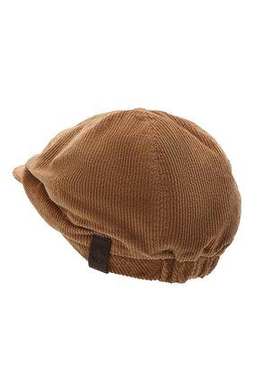Мужская хлопковое кепи DSQUARED2 светло-коричневого цвета, арт. HAM0035 16202367 | Фото 2