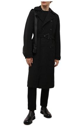 Мужские кожаные челси SANTONI черного цвета, арт. MCCG17819JW2IPWEN01 | Фото 2