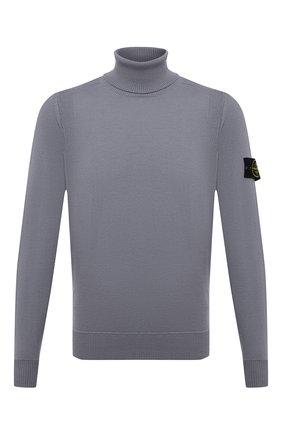 Мужской шерстяная водолазка STONE ISLAND серого цвета, арт. 7515527C4 | Фото 1