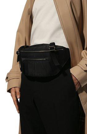 Мужская текстильная поясная сумка VALENTINO черного цвета, арт. WY2B0A91/BWK | Фото 2