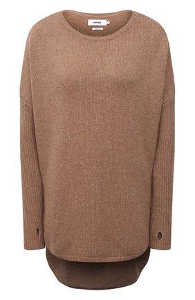 Женский кашемировый пуловер NOT SHY бежевого цвета, арт. 3902051C   Фото 1