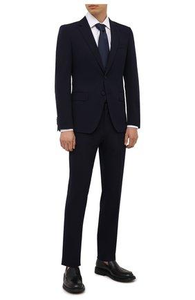 Мужской костюм BOSS темно-синего цвета, арт. 50458942 | Фото 1