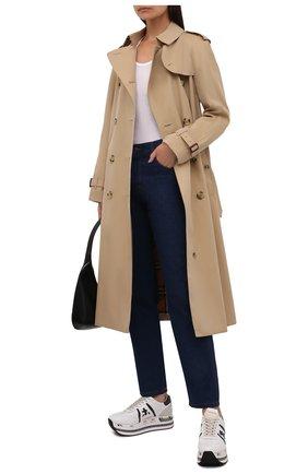 Женские кожаные кроссовки beth PREMIATA белого цвета, арт. BETH/VAR5350 | Фото 2