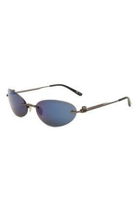 Женские солнцезащитные очки BALENCIAGA синего цвета, арт. 664092/T0005 | Фото 1