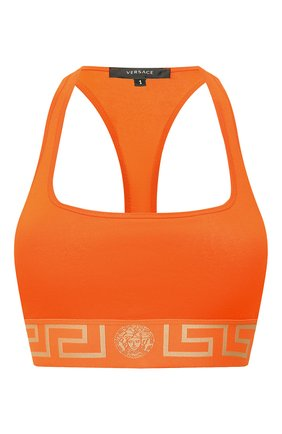 Женский бра-топ VERSACE оранжевого цвета, арт. AUD01039/A232741   Фото 1