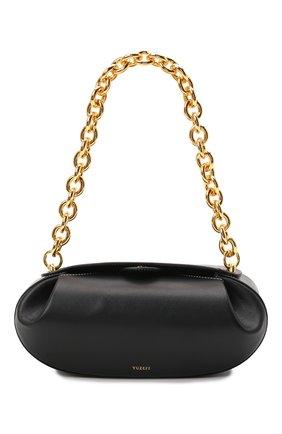 Женская сумка dinner roll YUZEFI черного цвета, арт. YUZIC0-HB-BT-00   Фото 1