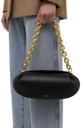 Женская сумка dinner roll YUZEFI черного цвета, арт. YUZIC0-HB-BT-00   Фото 2