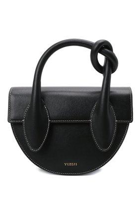 Женская сумка dolores YUZEFI черного цвета, арт. YUZIC0-HB-DL-00   Фото 1