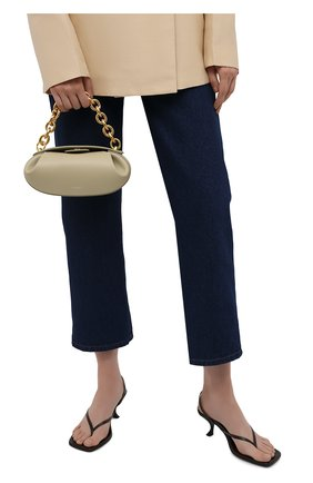 Женская сумка dinner roll YUZEFI бежевого цвета, арт. YUZIC0-HB-DR2-13   Фото 2
