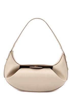 Женская сумка fortune cookie YUZEFI кремвого цвета, арт. YUZIC0-HB-FM-01   Фото 1
