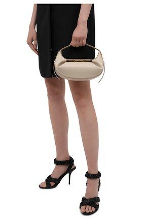 Женская сумка fortune cookie YUZEFI кремвого цвета, арт. YUZIC0-HB-FM-01   Фото 2