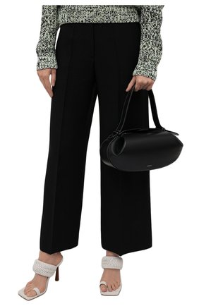 Женская сумка loaf YUZEFI черного цвета, арт. YUZIC0-HB-L0-00   Фото 2