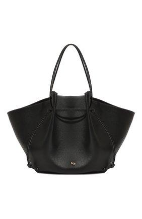Женская сумка mochi large YUZEFI черного цвета, арт. YUZIC0-HB-LM-00   Фото 1
