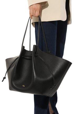 Женская сумка mochi large YUZEFI черного цвета, арт. YUZIC0-HB-LM-00   Фото 2