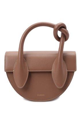 Женская сумка dolores YUZEFI бежевого цвета, арт. YUZPF21-HB-DL-14   Фото 1