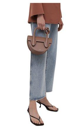Женская сумка dolores YUZEFI бежевого цвета, арт. YUZPF21-HB-DL-14   Фото 2