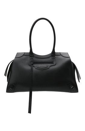 Женская сумка neo classic city l BALENCIAGA черного цвета, арт. 638531/15Y47 | Фото 1 (Размер: large; Материал: Натуральная кожа; Сумки-технические: Сумки top-handle)