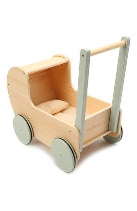 Детского коляска для кукол KID`S CONCEPT бежевого цвета, арт. 1000558   Фото 2