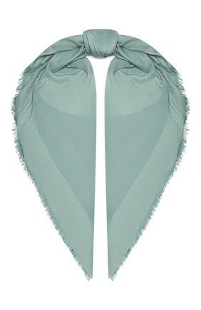 Женский шарф GIORGIO ARMANI светло-зеленого цвета, арт. 795312/1A134 | Фото 1