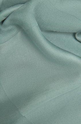 Женский шарф GIORGIO ARMANI светло-зеленого цвета, арт. 795312/1A134 | Фото 2