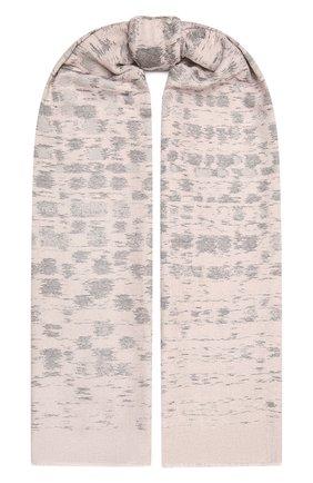Женский шарф GIORGIO ARMANI светло-розового цвета, арт. 795213/1A135 | Фото 1