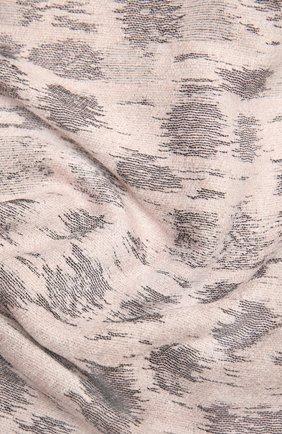 Женский шарф GIORGIO ARMANI светло-розового цвета, арт. 795213/1A135 | Фото 2