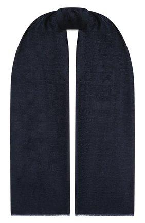 Женский шарф GIORGIO ARMANI темно-синего цвета, арт. 795213/1A135 | Фото 1