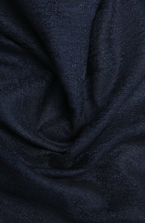 Женский шарф GIORGIO ARMANI темно-синего цвета, арт. 795213/1A135 | Фото 2