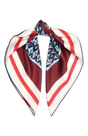 Женский шелковый платок VALENTINO белого цвета, арт. WW2EI114/UKA | Фото 1