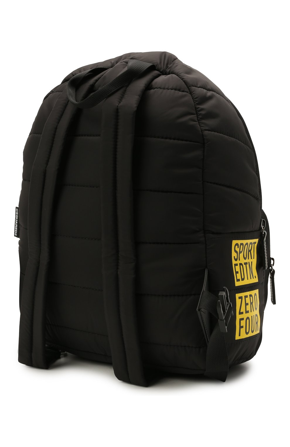 Детская рюкзак DSQUARED2 черного цвета, арт. DQ0321-D006N   Фото 2 (Материал: Текстиль)
