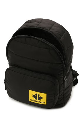 Детская рюкзак DSQUARED2 черного цвета, арт. DQ0321-D006N   Фото 3 (Материал: Текстиль)