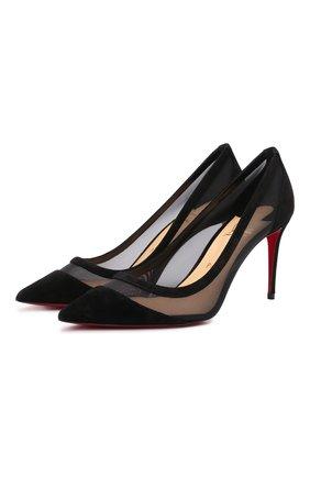 Комбинированные туфли Galativi 85   Фото №1