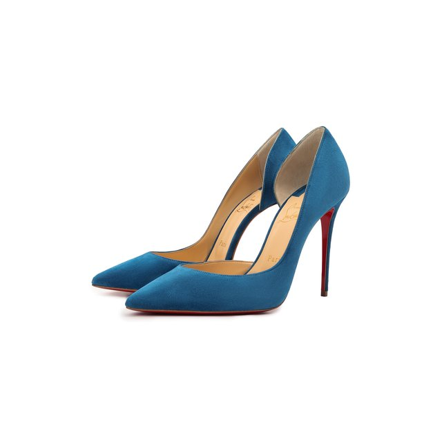 Замшевые туфли Iriza 100 Christian Louboutin