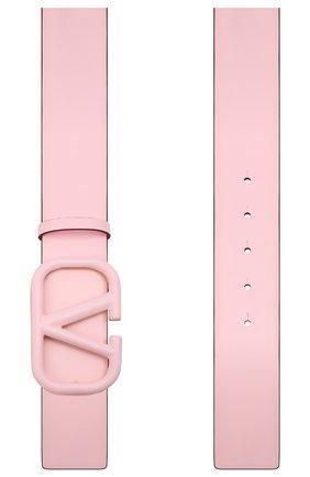 Женский кожаный ремень VALENTINO розового цвета, арт. WW2T0S11/YEE | Фото 2