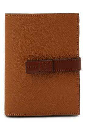 Женские кожаное портмоне LOEWE коричневого цвета, арт. C660S87X01 | Фото 1 (Кросс-КТ: другое)