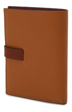Женские кожаное портмоне LOEWE коричневого цвета, арт. C660S87X01 | Фото 2 (Кросс-КТ: другое)