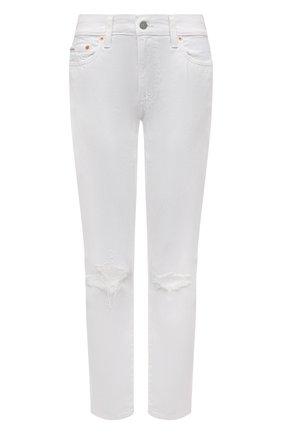 Женские джинсы POLO RALPH LAUREN белого цвета, арт. 211825837 | Фото 1