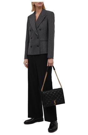 Женский жакет из шерсти и кашемира POLO RALPH LAUREN серого цвета, арт. 211814984 | Фото 2