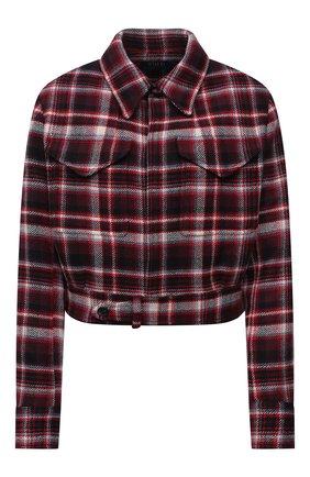 Женский шерстяная куртка POLO RALPH LAUREN разноцветного цвета, арт. 211858148 | Фото 1 (Материал подклада: Вискоза; Рукава: Длинные; Материал внешний: Шерсть; Длина (верхняя одежда): Короткие; Стили: Спорт-шик)