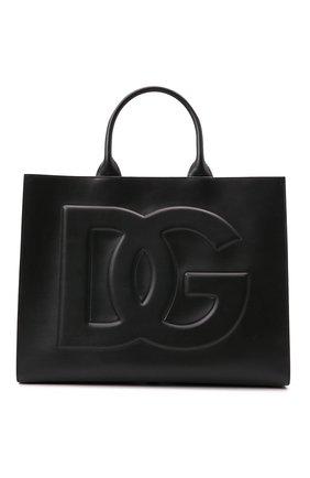 Женский сумка-тоут beatrice DOLCE & GABBANA черного цвета, арт. BB7022/AQ269   Фото 1