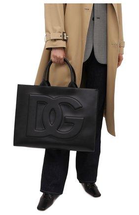 Женский сумка-тоут beatrice DOLCE & GABBANA черного цвета, арт. BB7022/AQ269   Фото 2
