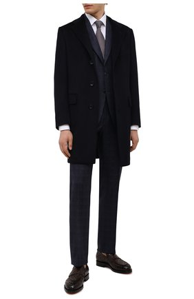 Мужские кожаные лоферы SANTONI темно-коричневого цвета, арт. MCCG17687MD3HVVDT50 | Фото 2