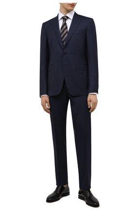 Мужские кожаные оксфорды SANTONI черного цвета, арт. MCCG17756SB3EVRTN01 | Фото 2
